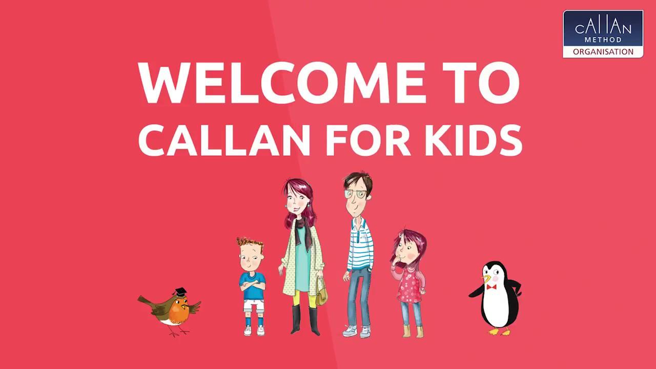CHƯƠNG TRÌNH CALLAN FOR KIDS