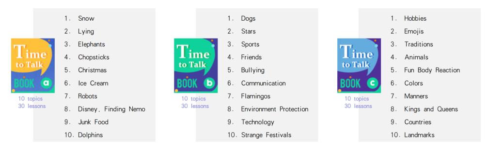Giáo trình Time To Talk