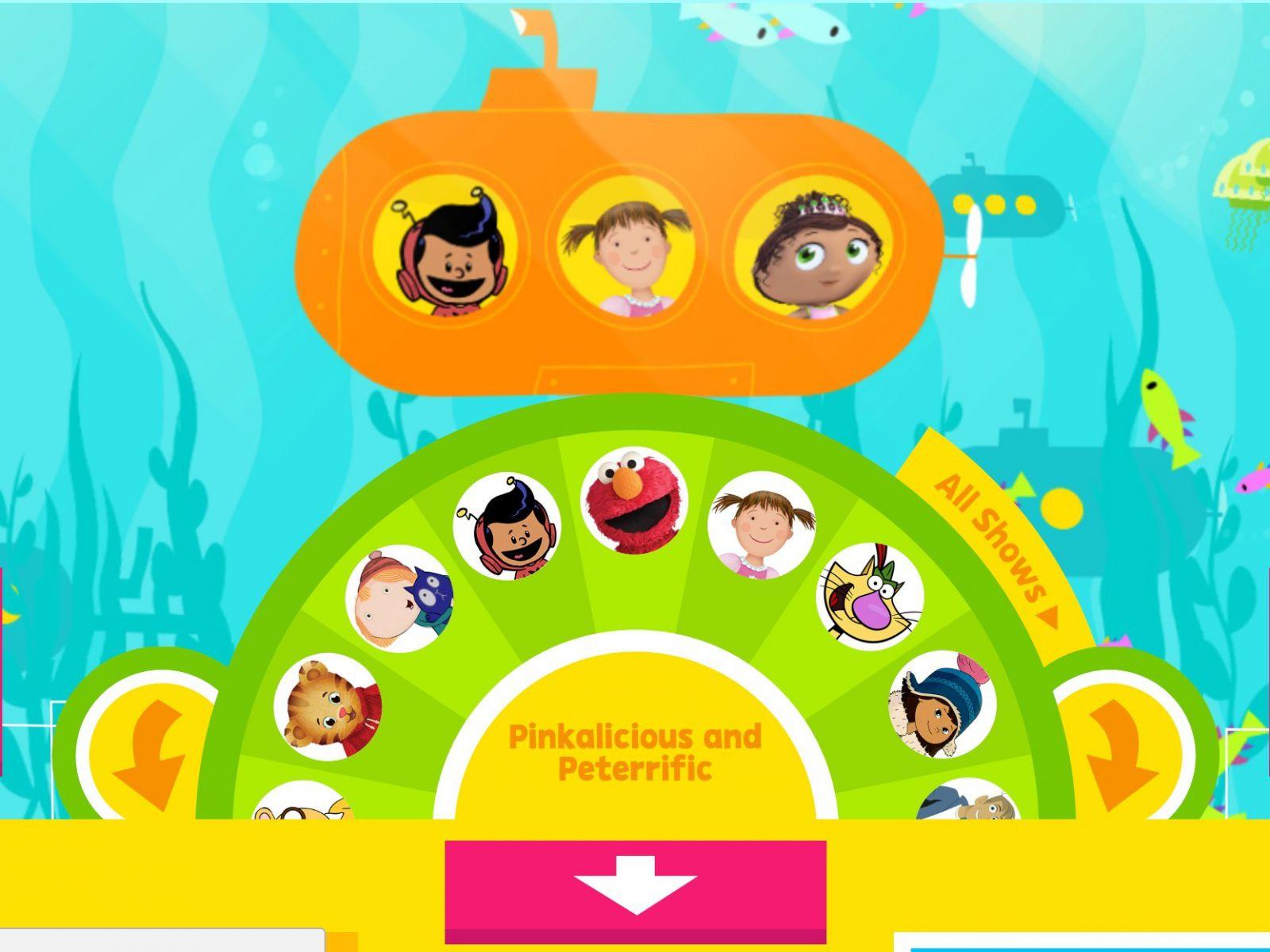 Học tiếng Anh qua PBS Kids