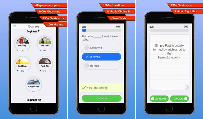 Học tiếng Anh online qua App trên điện thoại