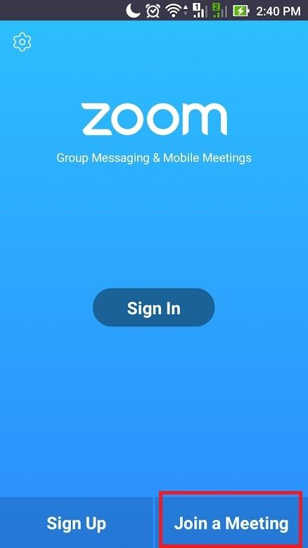 Hướng dẫn cài đặt Zoom trên điện thoại