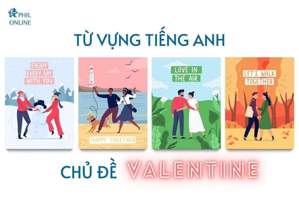 Từ vựng tiếng Anh chủ đề Valentine