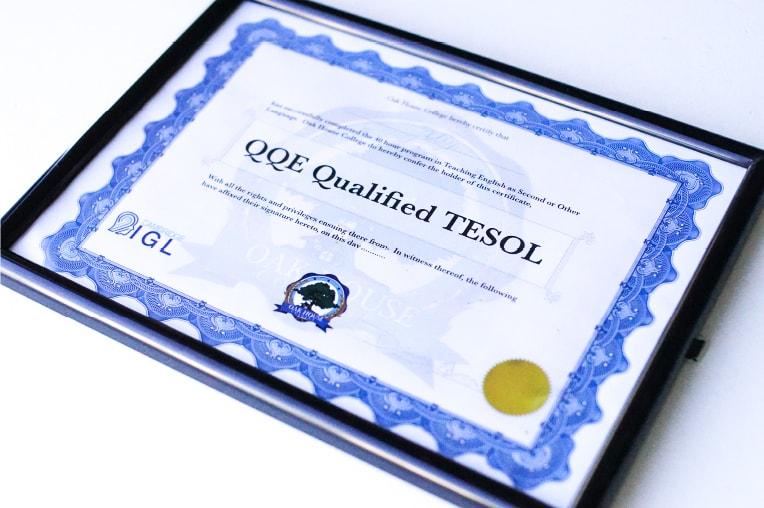 100% giáo viên có chứng chỉ TESOL